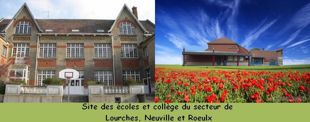 Site des écoles et collège du secteur de Lourches, Neuville et Roeulx
